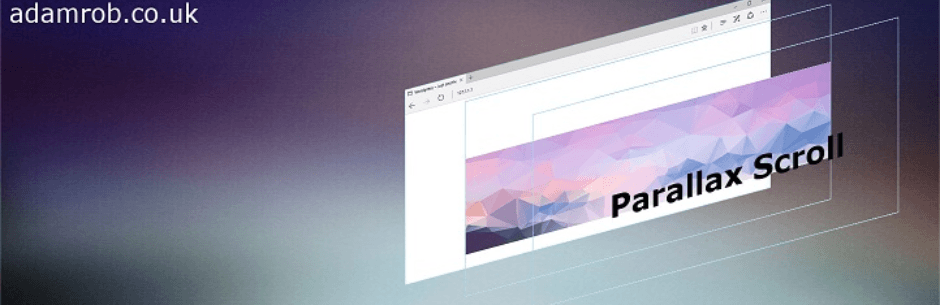parallax effect plugin for WordPress