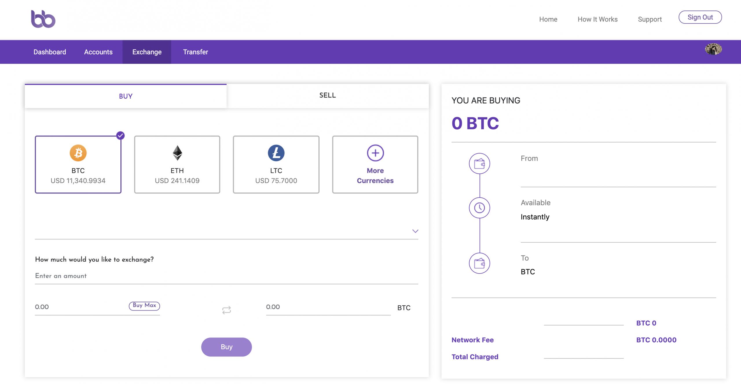 Blockbasis Wallet