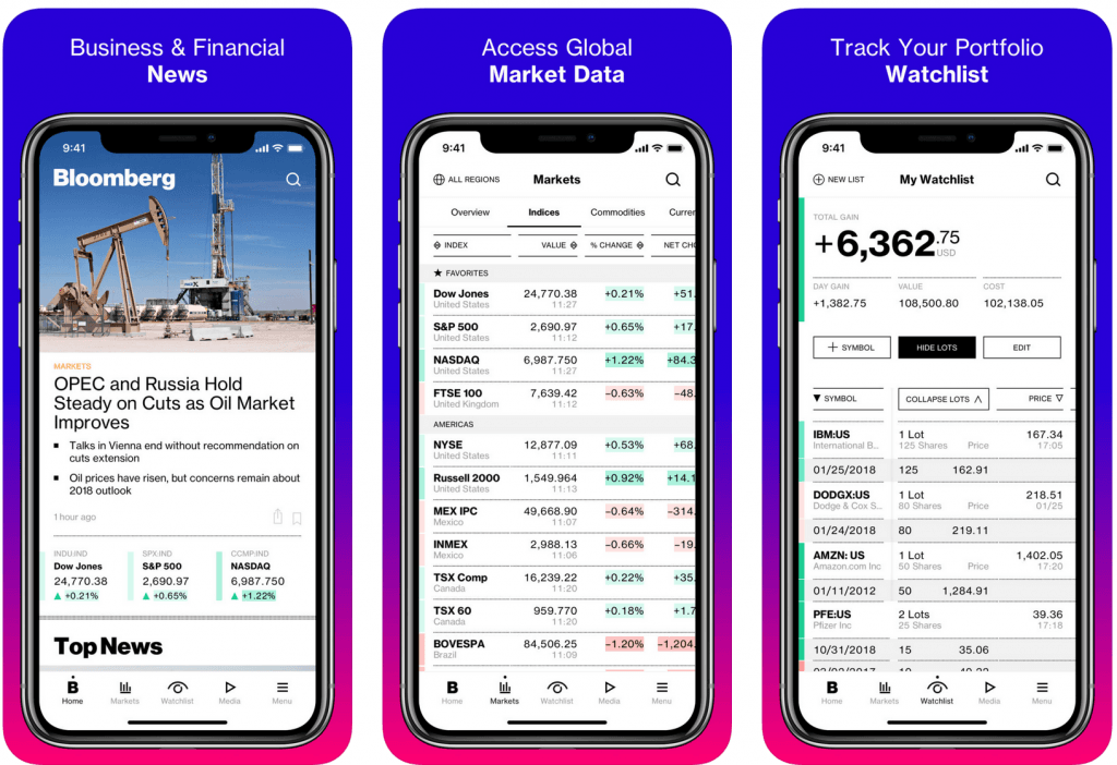 Bloomberg React Native