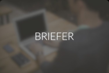 Briefer portfolio website