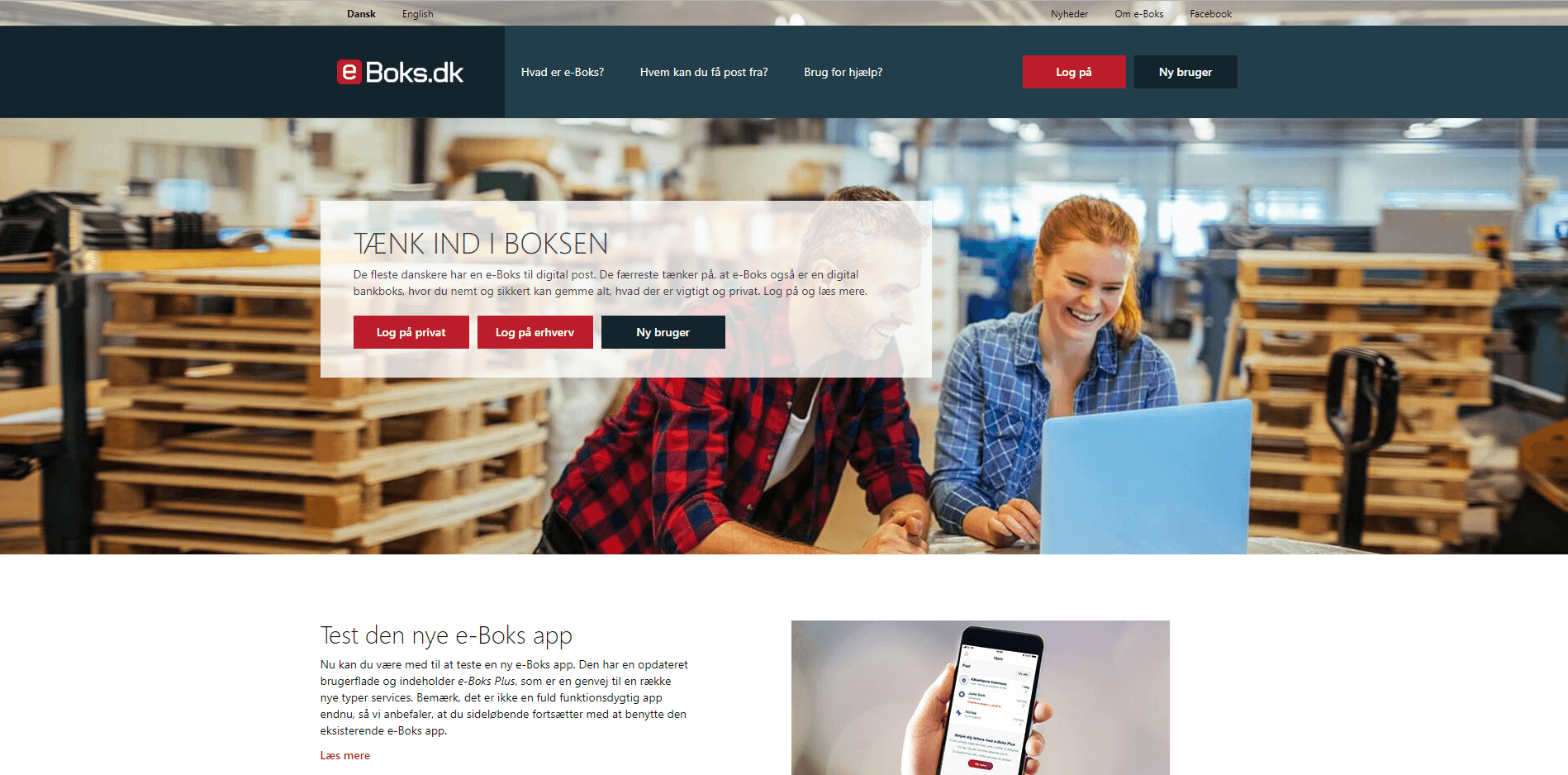 eboks website's picture