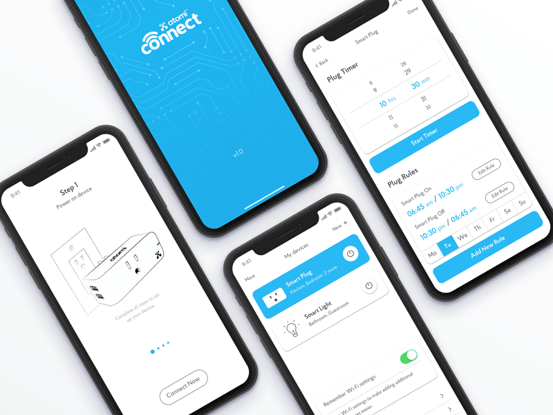 flat UI design for mobile apps