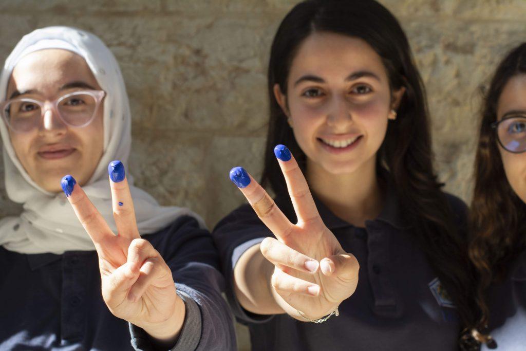 Museum for the United Nations - UN Live - Amman Jordan fingerprint