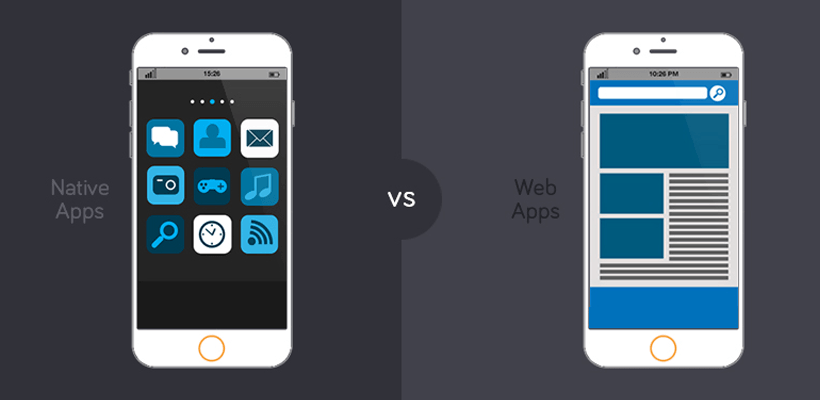 web and mobile app