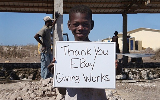 ebay donation