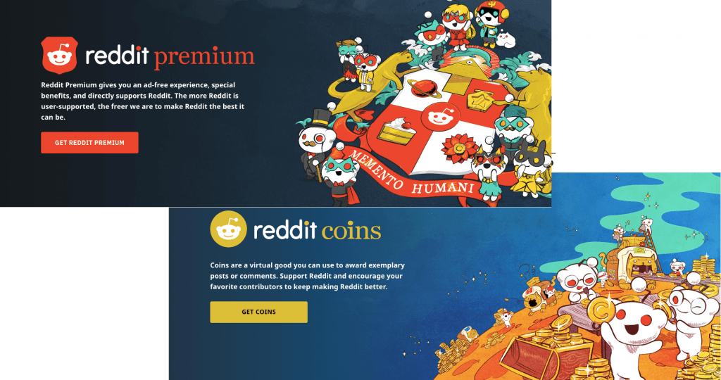 Reddit premium and coins