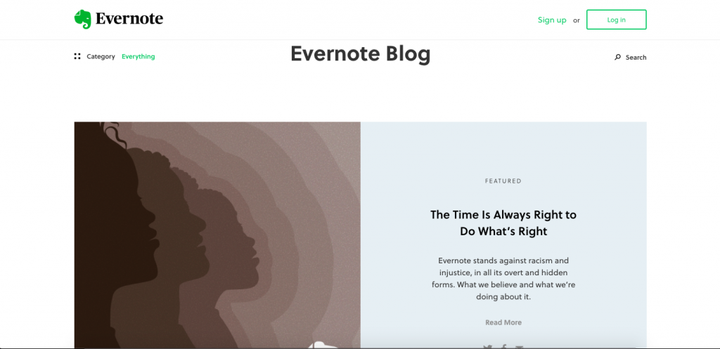 Evernote Blog wordpress