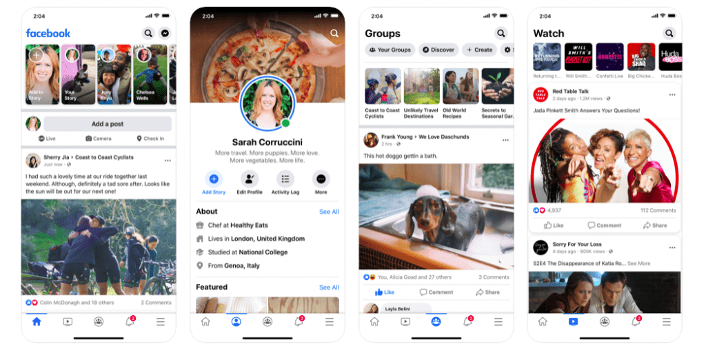 Facebook 10 Most Popular React Native Apps of 2020