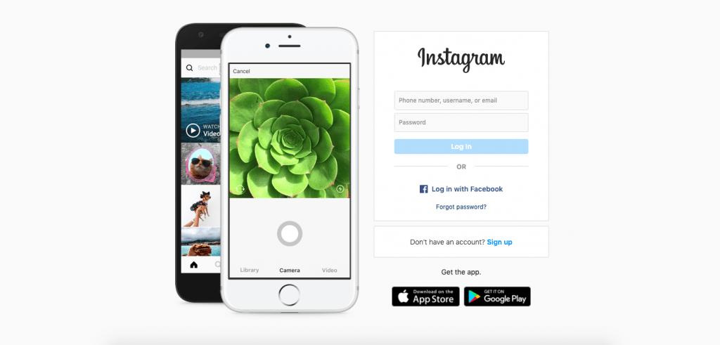 Instagram Top 10 Most Popular ReactJS Websites of 2020