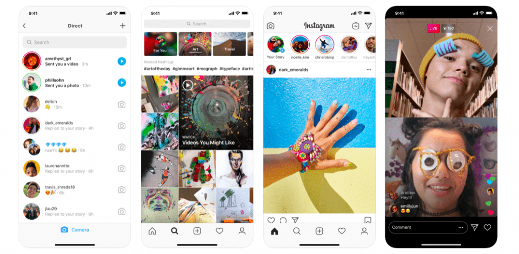 Instagram 10 Most Popular React Native Apps of 2020