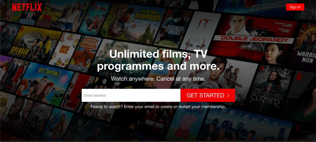 Netflix Top 10 Most Popular ReactJS Websites of 2020
