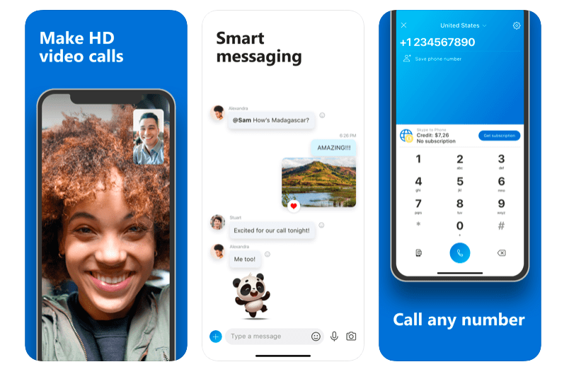 Skype 10 Most Popular React Native Apps of 2020