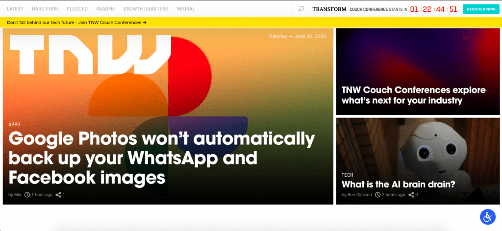 TheNextWeb wordpress