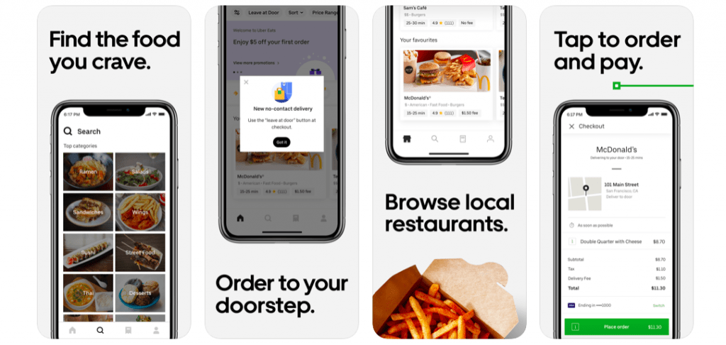 Uber Eats 10 Most Popular React Native Apps of 2020