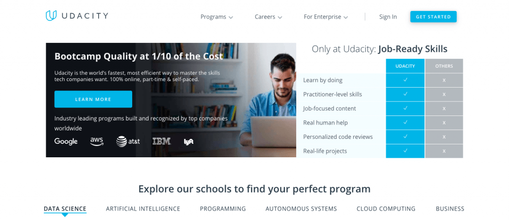 Udacity coding school