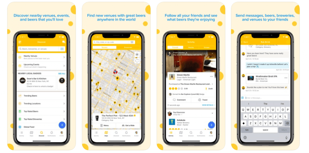 Untappd 10 Most Popular Ionic Apps of 2020