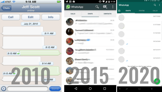 How was WhatsApp Developed 2010 2015 2020