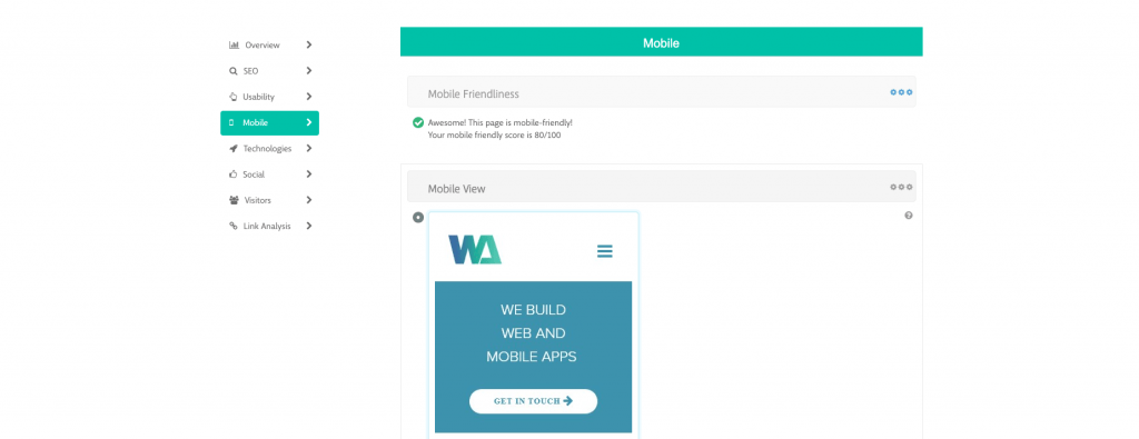 Wiredelta tools mobile responsiveness