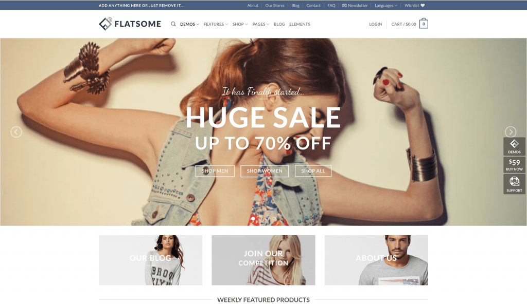 eCommerce Themes for WordPress - Flatsome