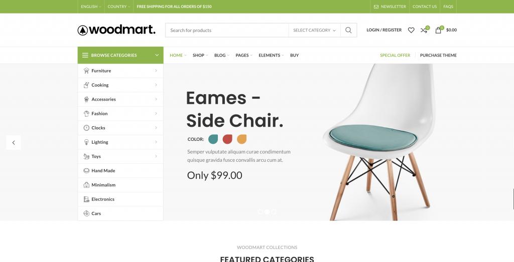 eCommerce Themes for WordPress - WoodMart