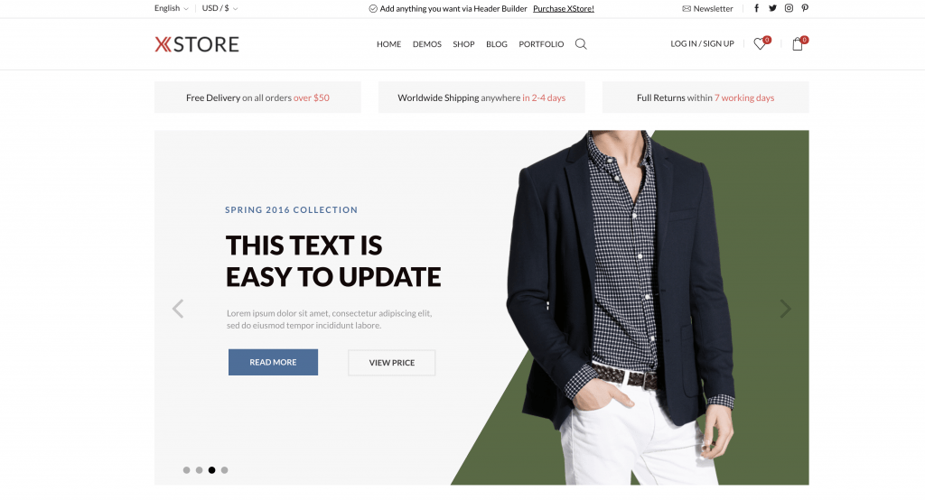 eCommerce Themes for WordPress - XStore