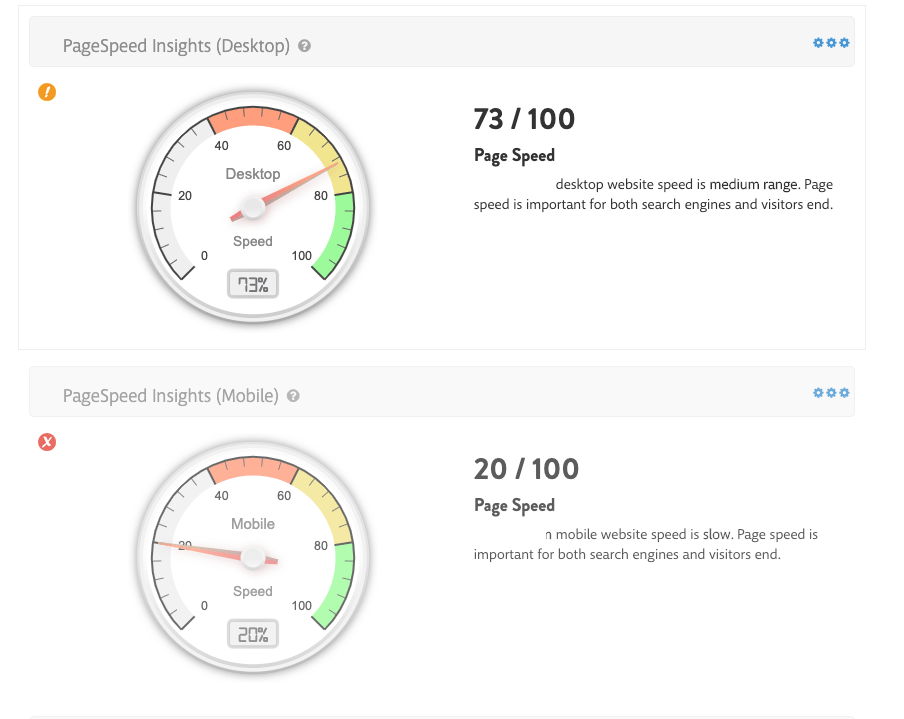 Page Speed Insights For Desktop And Mobile - Wiredelta