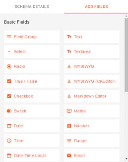 schema fields