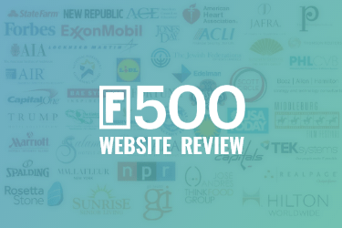 Complete Review of Fortune 500 Websites