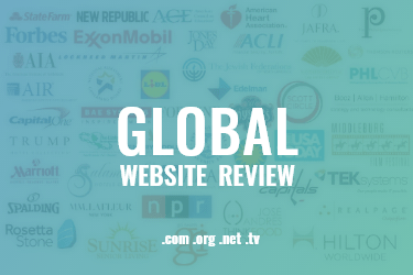 Complete Review of Global Websites (.com, .org, .net, .tv)