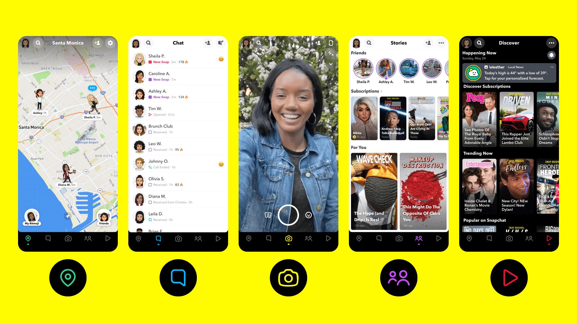 Snapchat Elements