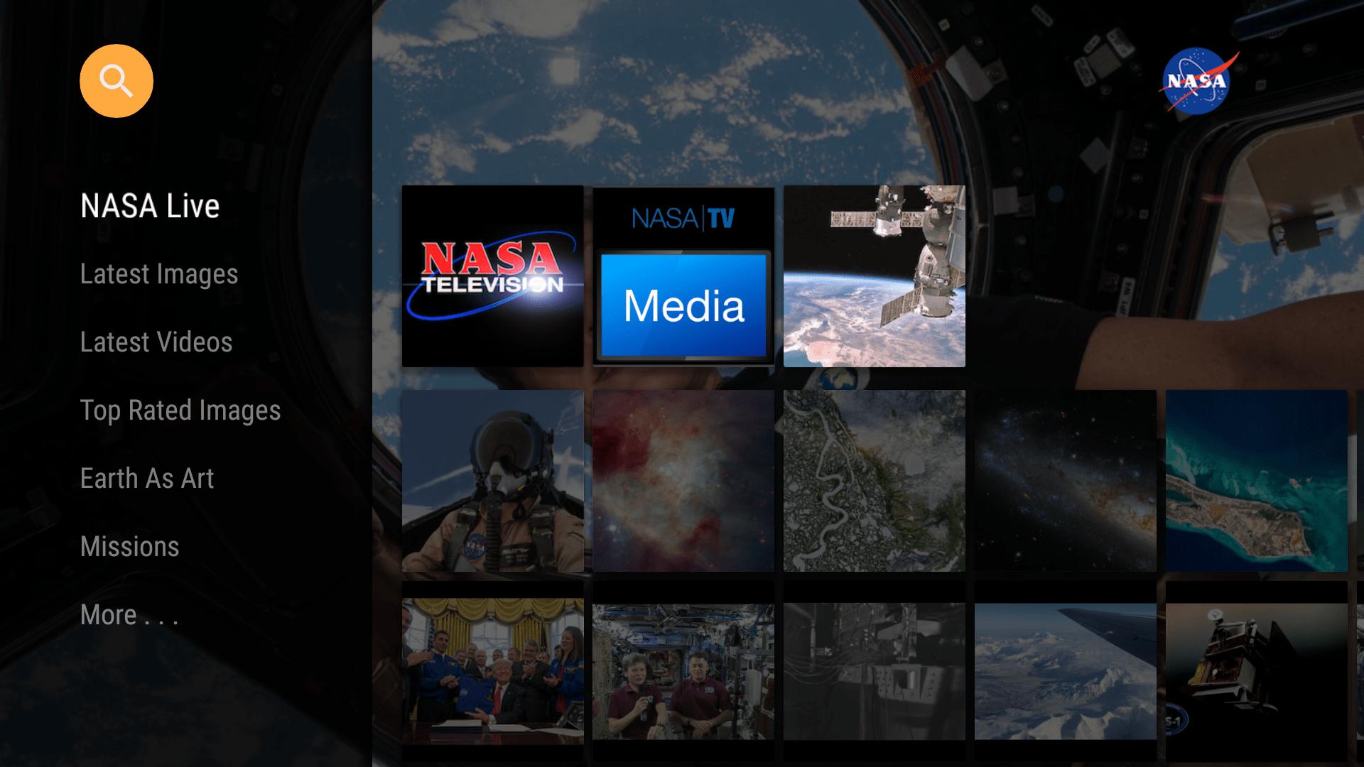 NASA app NodeJS