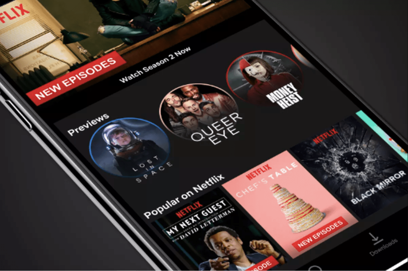 Netflix NodeJS App