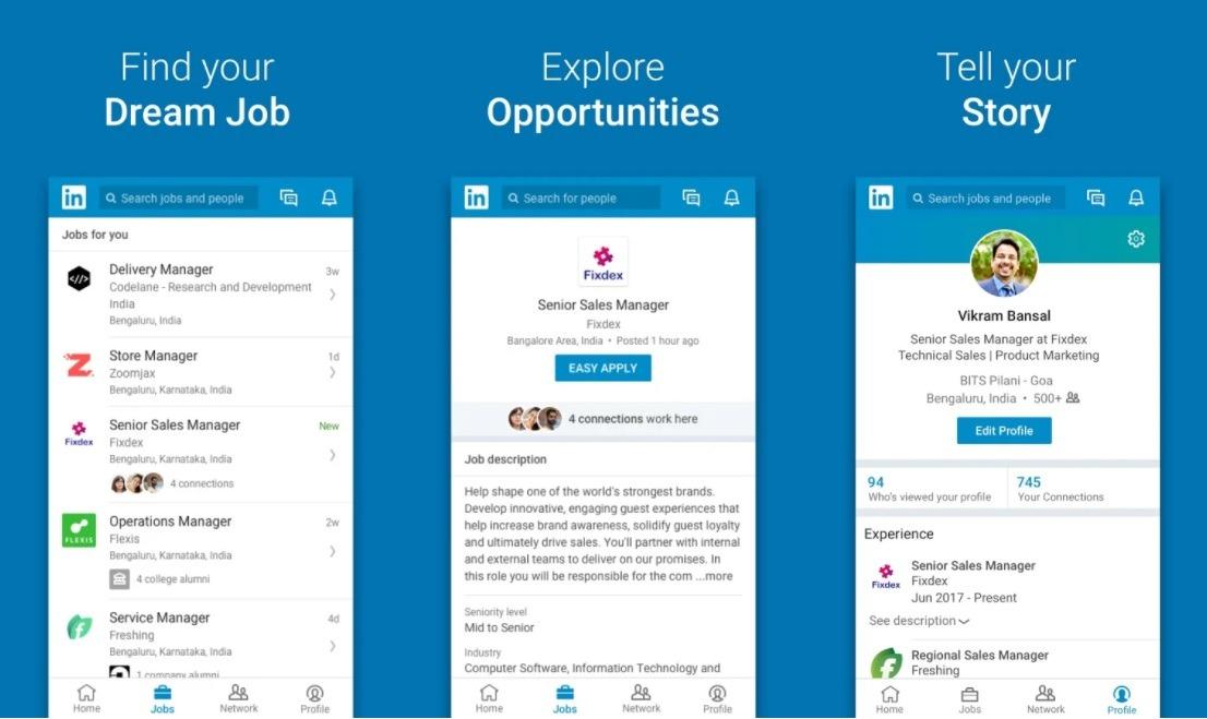 LinkedIn App NodeJS