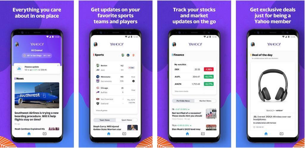 Yahoo Node.JS App