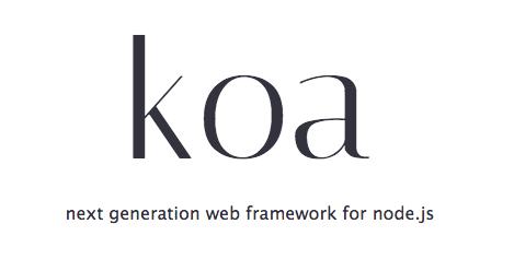koa.js framework