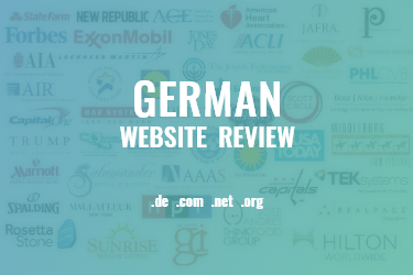 100 most popular German websites
