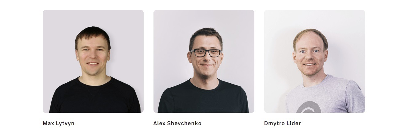 Alex Shevchenko, Max Lytvyn, and Dmytro Lider are the co-founders of Grammarly.