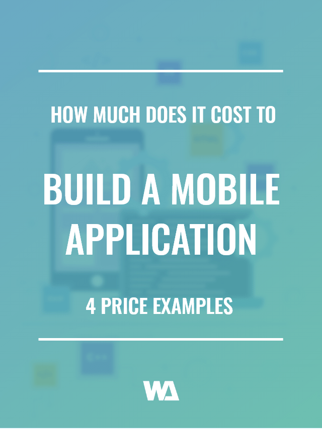What does it cost to build a mobile app