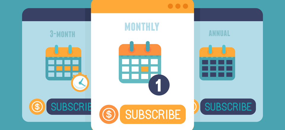 subscription as a service business models