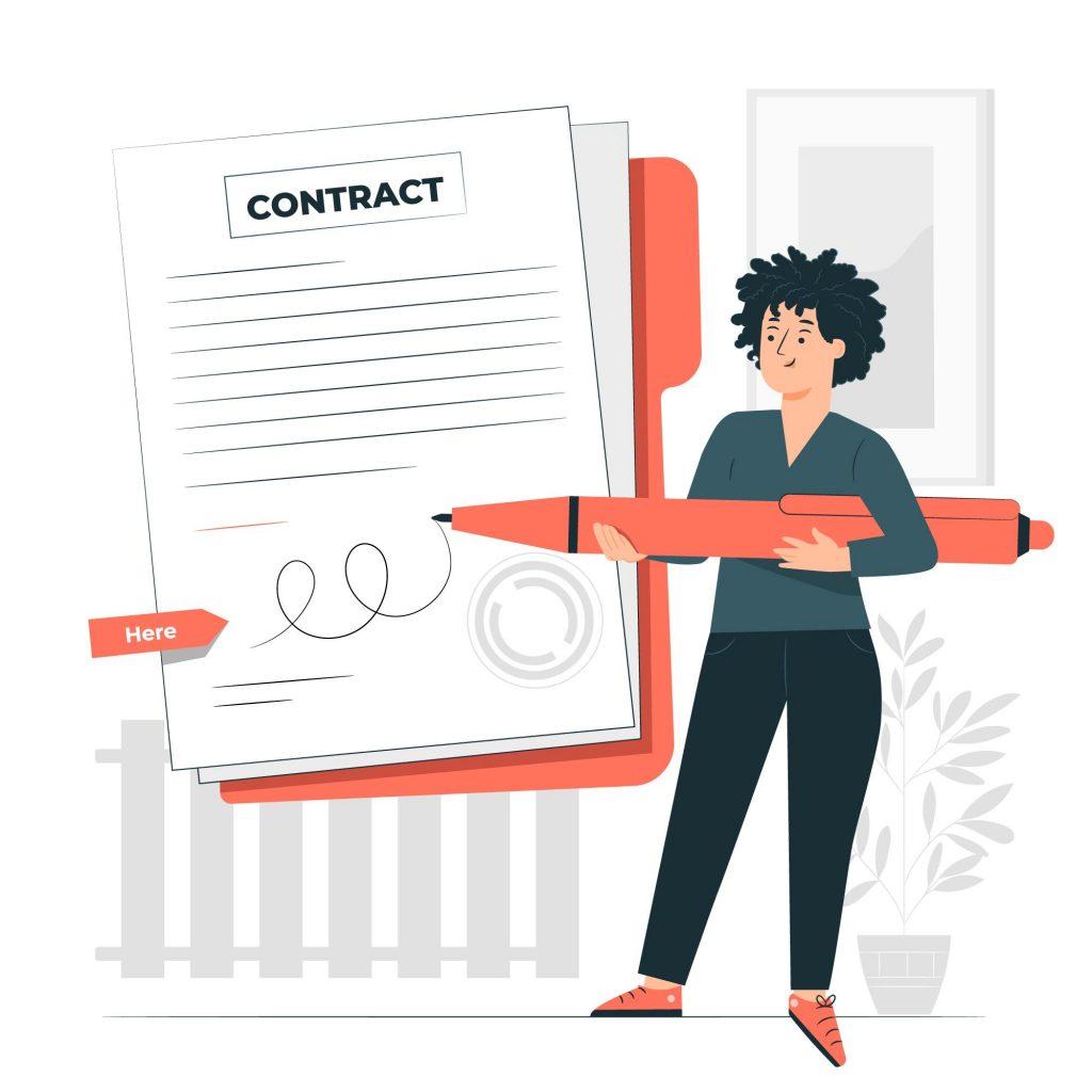 agile development agency contract