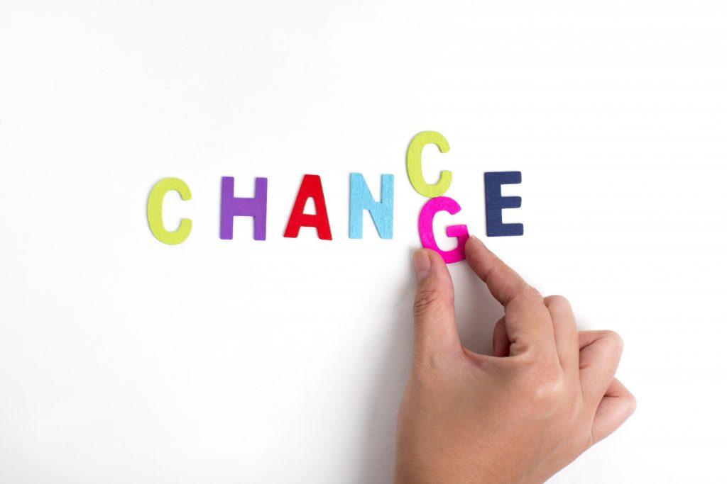 change in an agile development agency