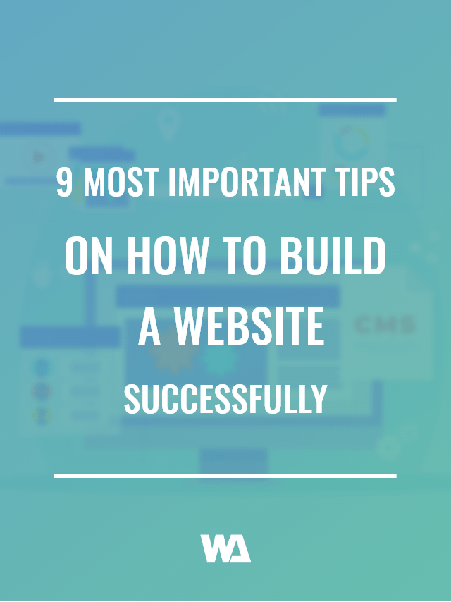 how to build a website successfully