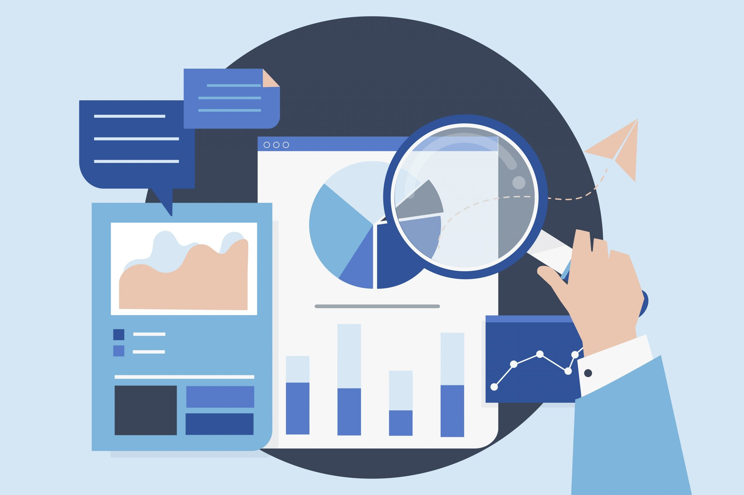 Business analytic tools - graphs